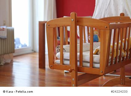 babywiege massivholz